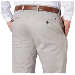Tommy Hilfiger Mens Tailored Fit Chinos Pants